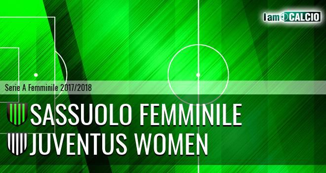 Sassuolo Femminile - Juventus Women