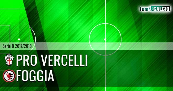 Pro Vercelli - Foggia