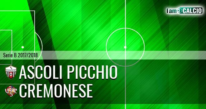 Ascoli Picchio - Cremonese