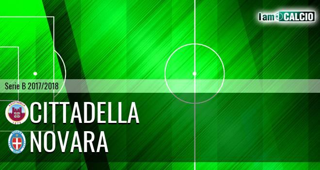 Cittadella - Novara 1-3. Cronaca Diretta 11/02/2018