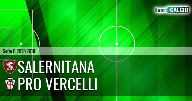 Salernitana - Pro Vercelli 0-0. Cronaca Diretta 17/02/2018
