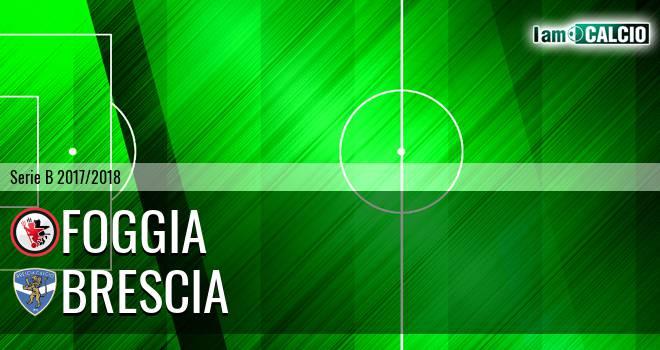 Foggia - Brescia 1-2. Cronaca Diretta 24/02/2018