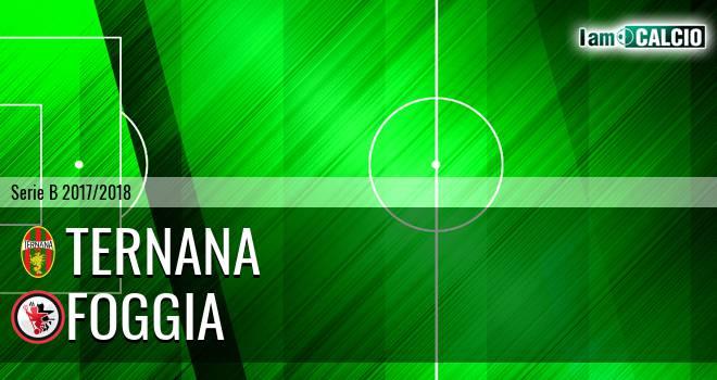 Ternana - Foggia 2-2. Cronaca Diretta 17/04/2018