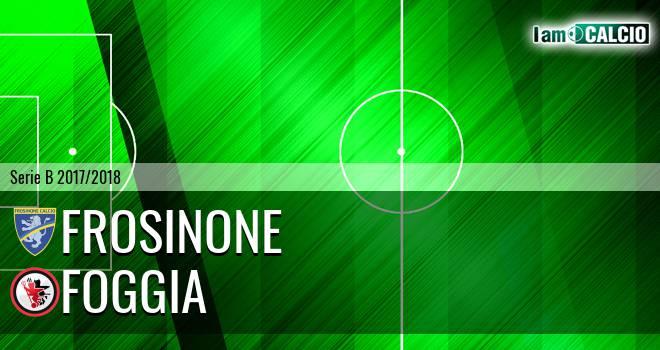 Frosinone - Foggia 2-2. Cronaca Diretta 18/05/2018