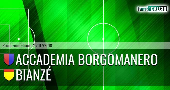 Accademia Borgomanero - Bianzé