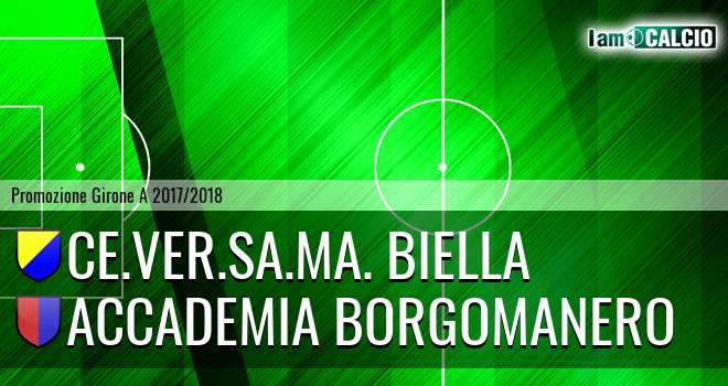 Ce.Ver.Sa.Ma. Biella - Accademia Borgomanero