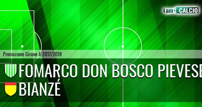 Fomarco Don Bosco Pievese - Bianzé