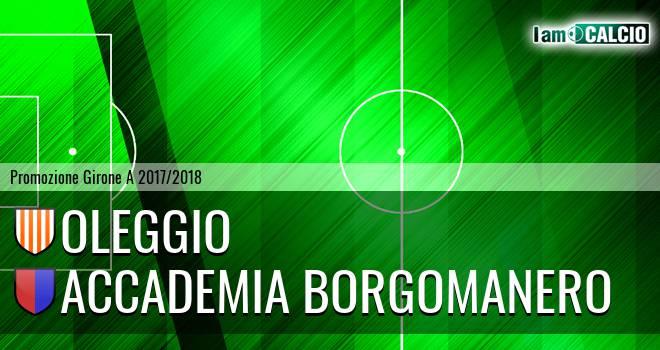 Oleggio - Accademia Borgomanero