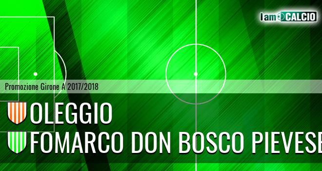 Oleggio - Fomarco Don Bosco Pievese