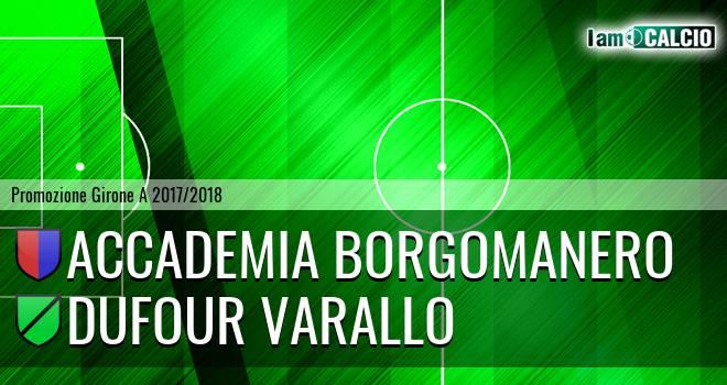 Accademia Borgomanero - Dufour Varallo