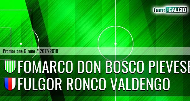Fomarco Don Bosco Pievese - Fulgor Ronco Valdengo