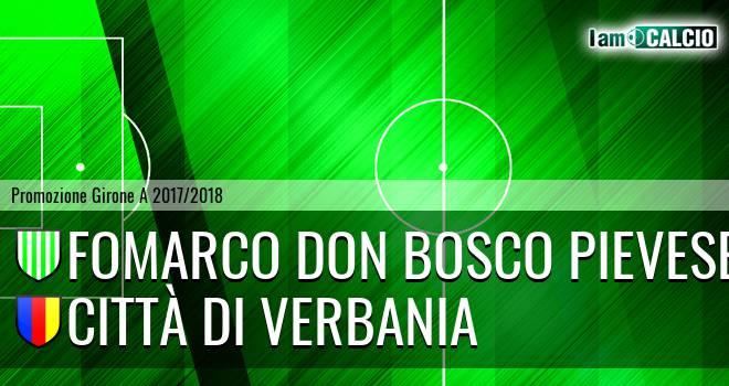 Fomarco Don Bosco Pievese - Città di Verbania