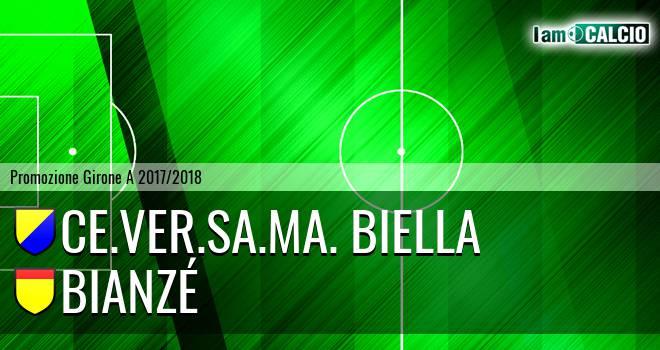 Ce.Ver.Sa.Ma. Biella - Bianzé 0-2. Cronaca Diretta 04/02/2018