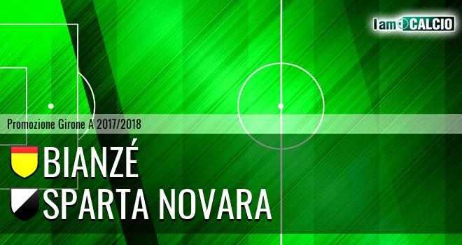 Bianzé - Sparta Novara