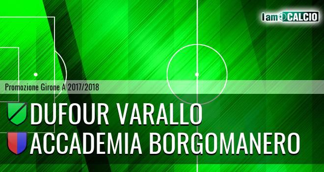 Dufour Varallo - Accademia Borgomanero