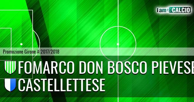 Fomarco Don Bosco Pievese - Castellettese