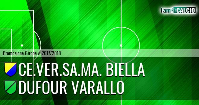 Ce.Ver.Sa.Ma. Biella - Dufour Varallo