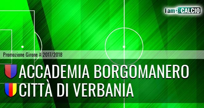 Accademia Borgomanero - Città di Verbania