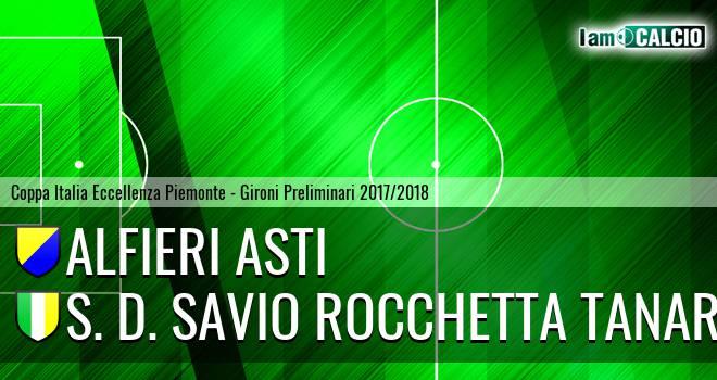 Alfieri Asti - S. D. Savio Rocchetta Tanaro