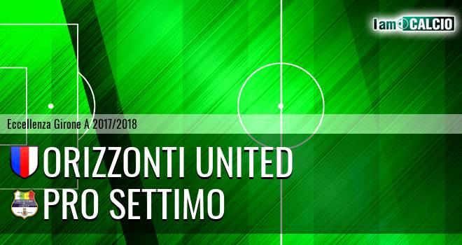 Orizzonti United - Pro Settimo