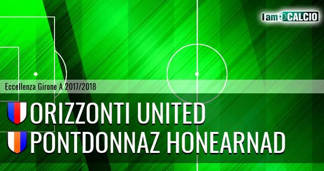 Orizzonti United - PontDonnaz HoneArnad