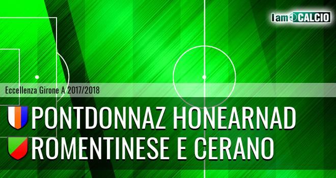 PontDonnaz HoneArnad - Romentinese e Cerano