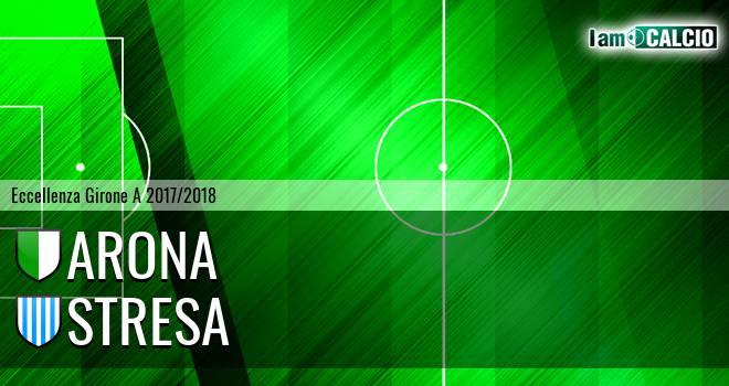 Arona - Stresa 1-2. Cronaca Diretta 18/02/2018