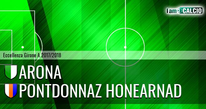 Arona - PontDonnaz HoneArnad