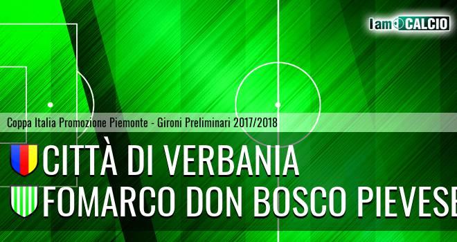 Città di Verbania - Fomarco Don Bosco Pievese