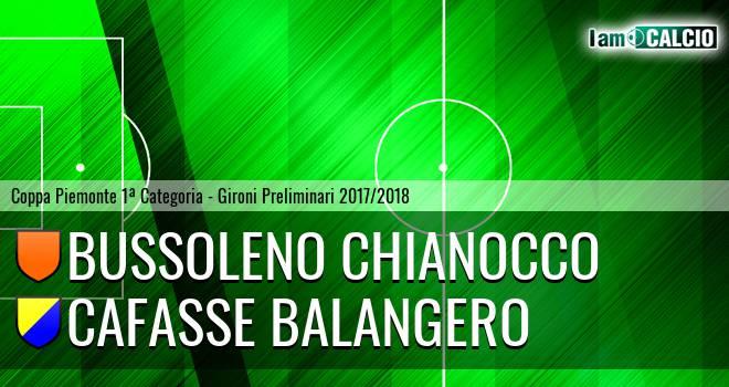 Bussoleno Chianocco - Cafasse Balangero