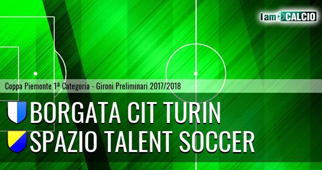 Borgata Cit Turin - Spazio Talent Soccer