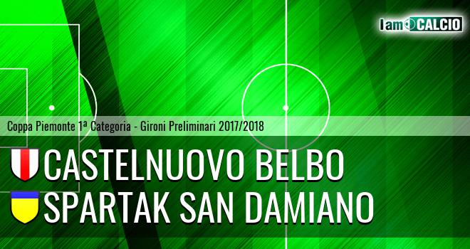 Castelnuovo Belbo - Spartak San Damiano