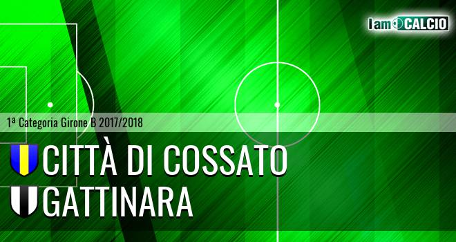 Città di Cossato - Gattinara 3-0. Cronaca Diretta 07/03/2018