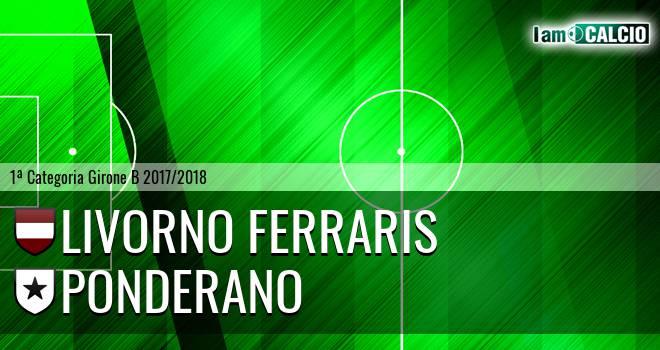 Livorno Ferraris - Ponderano 0-3. Cronaca Diretta 18/03/2018