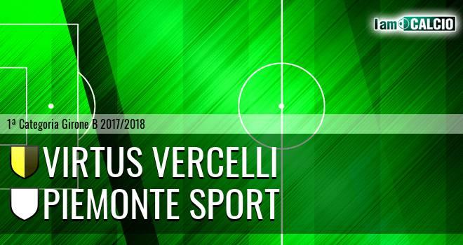 Virtus Vercelli - Piemonte Sport