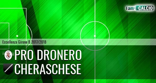 Pro Dronero - Cheraschese 1-0. Cronaca Diretta 11/04/2018