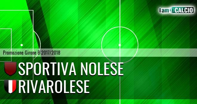 Sportiva Nolese - Rivarolese