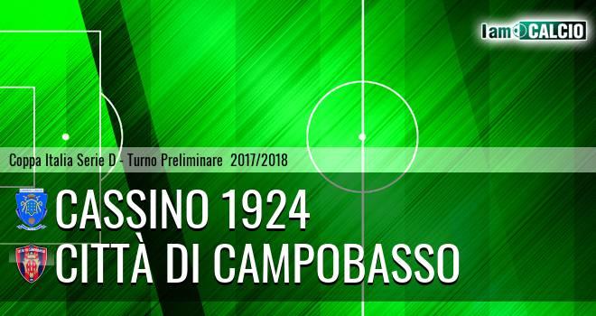 Cassino 1924 - Città di Campobasso
