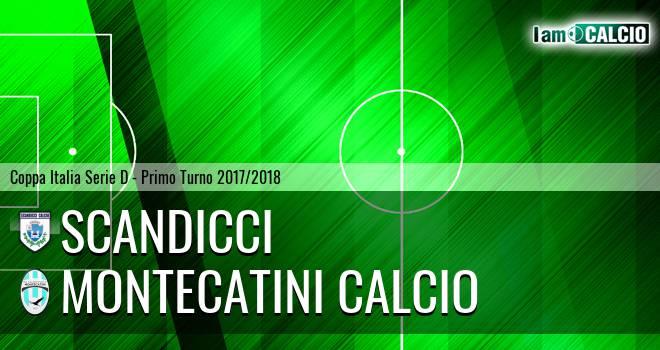 Scandicci - Valdinievole Montecatini