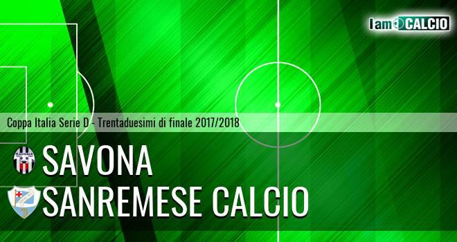Savona - Unione Sanremo