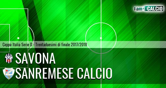 Savona - Sanremese Calcio