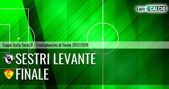 Sestri Levante - Finale