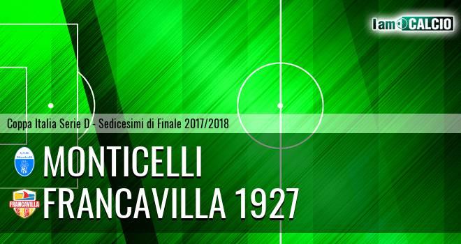 Monticelli - Francavilla 1927