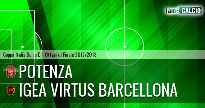 Potenza - Igea Virtus Barcellona