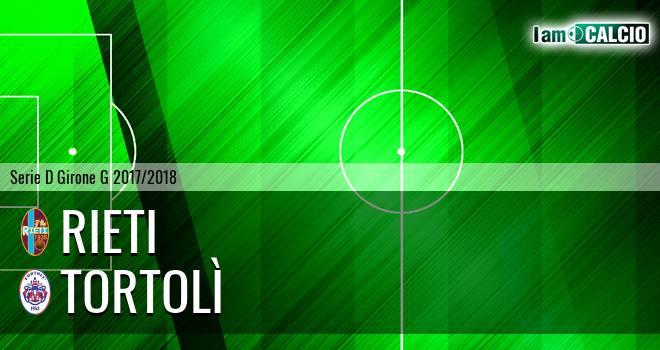 Rieti - Tortolì