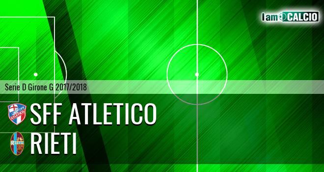 Atletico Terme Fiuggi - Rieti