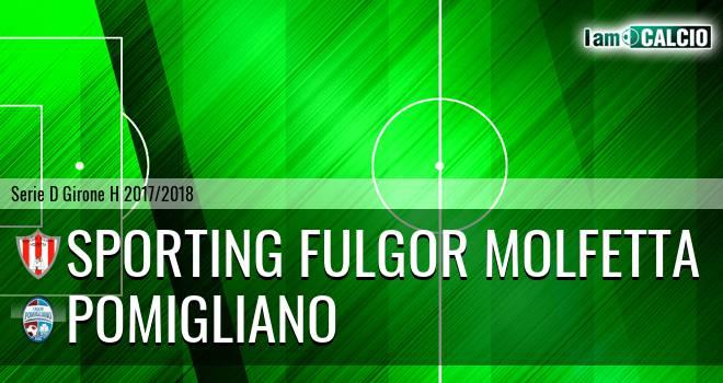 Sporting Fulgor Molfetta - Pomigliano