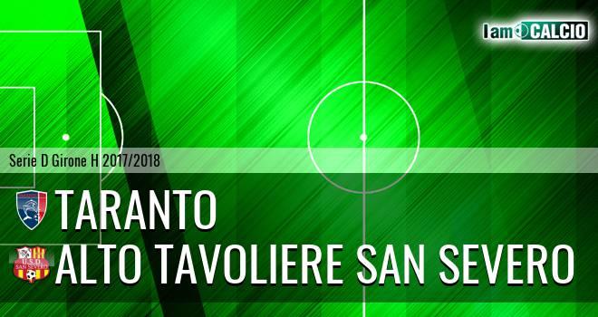 Taranto - Alto Tavoliere San Severo