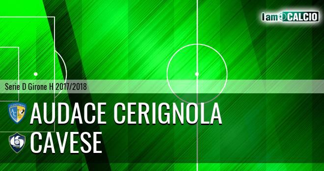 Audace Cerignola - Cavese