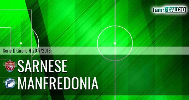 Sarnese - Manfredonia Calcio 1932